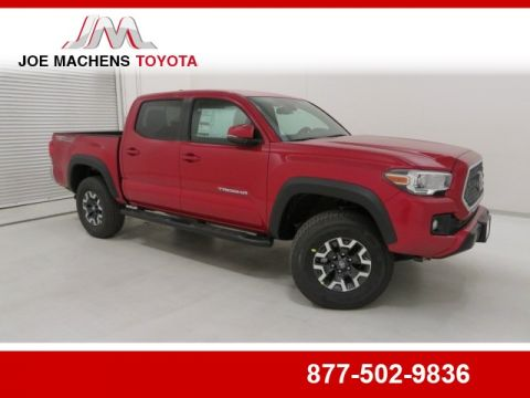 New 2018 Toyota Tacoma TRD Offroad 4D Double Cab